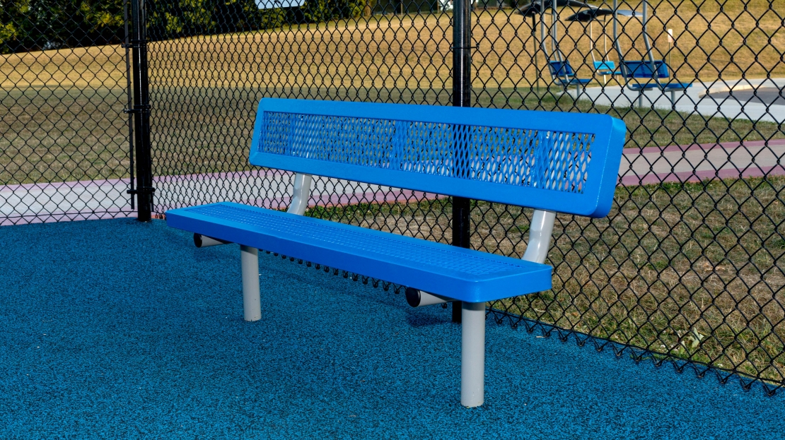 Regal Outdoor Bench With Back Site Amenities